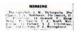 Reported Missing - John Maxwell Campbell