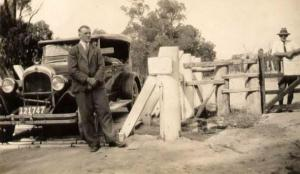 Wes Courtney on Queensland Border_1930