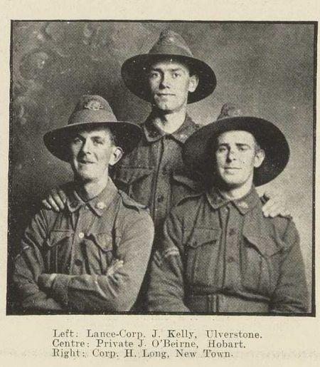 Pt J O'Beirne - WW1 - 1917